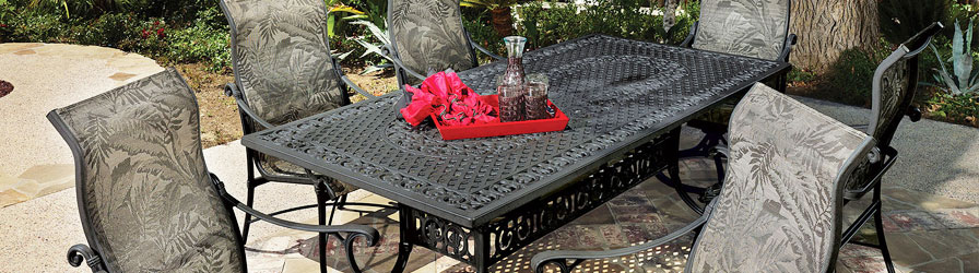 Cast Aluminum Outdoor Furniture Ct New England Patio And Hearth