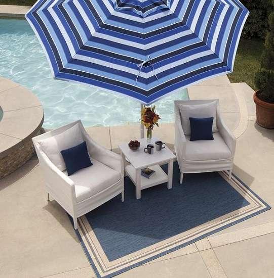 Rugs Furniture: Treasure Garden Outdoor Patio Rugs