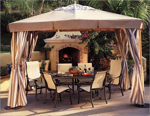 treasure garden wood style pavilion new england patio and hearth