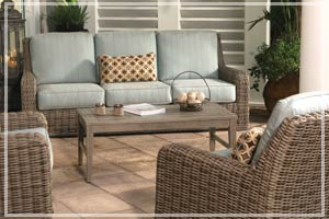 Ebel Outdoor Furniture CT Ebel Synthetic Wicker New England Patio
